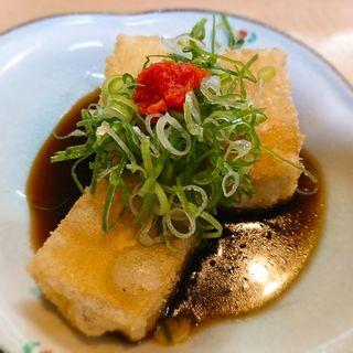 豆腐唐揚げ(こうり)