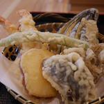 季節の天ぷら