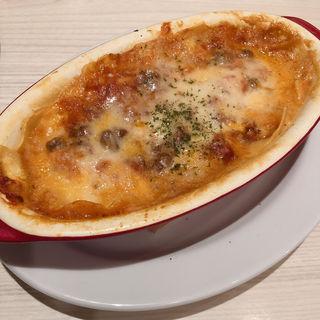 桃太郎トマトと大長茄子のラザニア(肉ビストロ 熟 ルクア1100店 (ニクビストロ ジュク))
