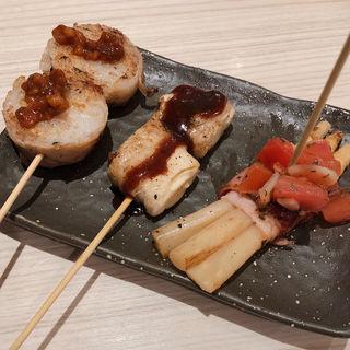 本日のおまかせ三種盛り(肉ビストロ 熟 ルクア1100店 (ニクビストロ ジュク))