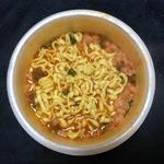 サッポロ一番贅沢の極み特濃海老担々麺