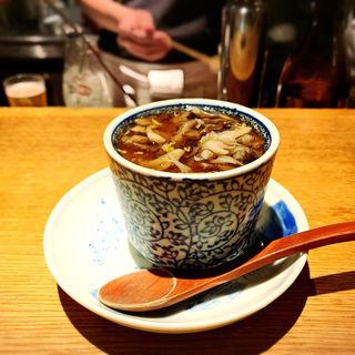栗とまい茸茶碗蒸し