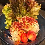 燻製ポテトサラダ(手作りホルモン焼 ぶたさま)