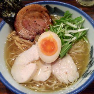 柚子塩らーめん(AFURI 原宿 (阿夫利 あふり))