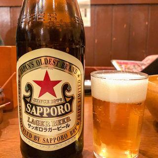 サッポロラガービール(俺の居酒屋 三蔵 上野店 )