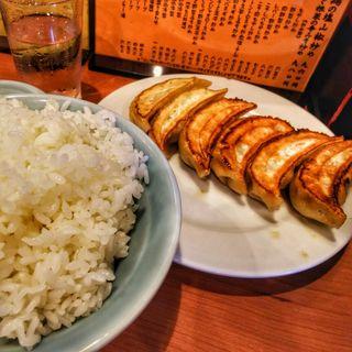 餃子定食(三幸園 白山通り店 (サンコウエン))