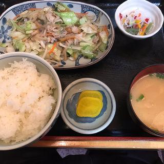 野菜炒め定食(のんきや )