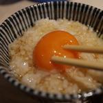 こだわり卵の卵かけご飯