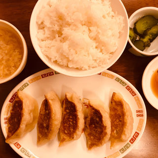 餃子セット(焼き餃子)