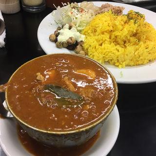 赤い鶏カレー(カレーは飲み物。 ニュー新橋ビル店 )