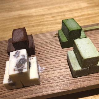 豆腐生チョコ(三原豆腐店)