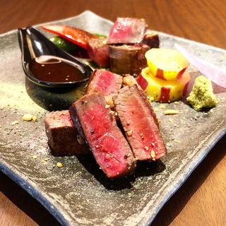 ステーキ(肉バルShow's dining 百万遍店)