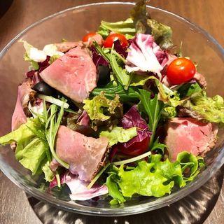 サラダ(肉バルShow's dining 百万遍店)