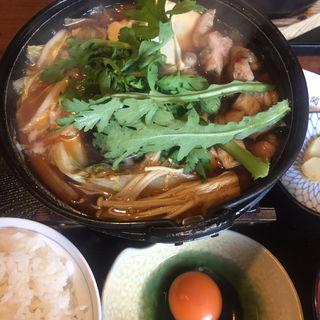 鶏すき鍋(鶏鬨 新川店 )