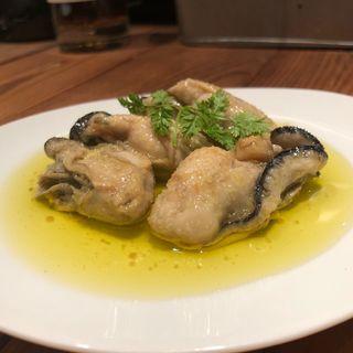 牡蠣の燻製マリネ(中野アッカ)