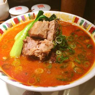 叉焼担々麺(四川辣麺 心斎橋店 )