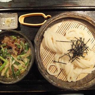 牛のホルモンのつけ麺(山元麺蔵 (やまもとめんぞう))