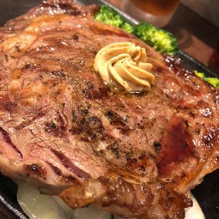 リブロース ステーキ300(いきなりステーキ 東中野店)