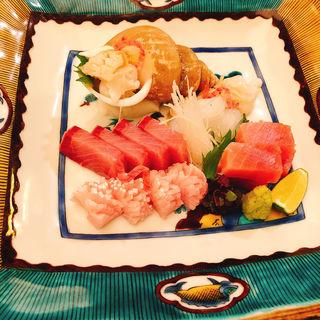 刺身盛り(加賀屋 銀座店)