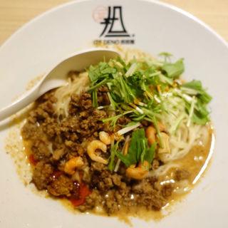汁なし担担麺 しびれる(175°DENO担担麺 GINZa (ヒャクナナジュウゴド デノタンタンメン))