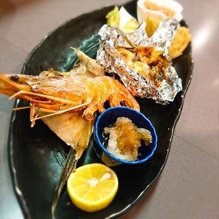 魚介盛り合わせ(串宝)