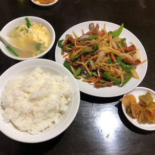 青椒肉絲(旺福楼)