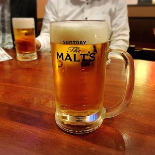 生ビール(居酒屋 いかり屋 )