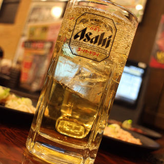 ハイボール(ウイスキー濃いめ)(七輪焼肉 安安 札幌南3条店)
