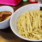 カラつけ麺(太麺)