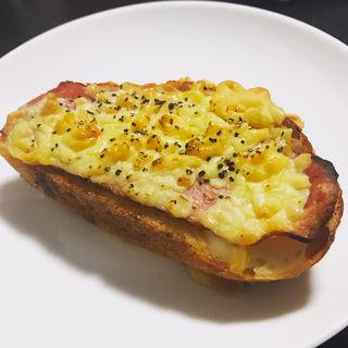 とろ〜りチーズのクロックムッシュ(アンティーク 銀座本店 (ANTIQUE))