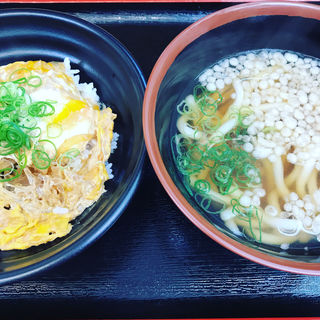 昼定食(道楽うどん 梅田店)