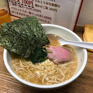 横浜スタイル豚骨ラーメン(麺や 福一 )