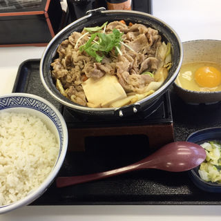 牛すき鍋膳/大盛(吉野家 大通西10丁目店)