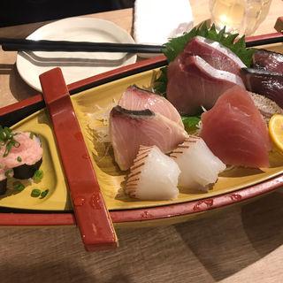 お造り盛り合わせ(六種盛り)(魚盛  OBPツインタワー店)
