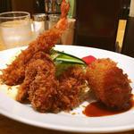 かきミックスセット(洋食の欧風軒)