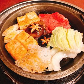すき焼き(浅草今半 国際通り本店)