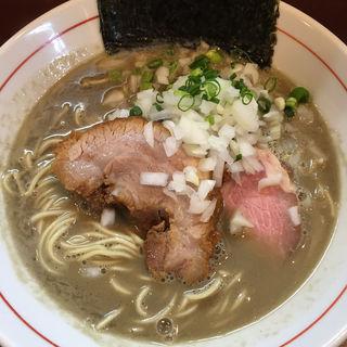 濃厚煮干し蕎麦(零一弐三)