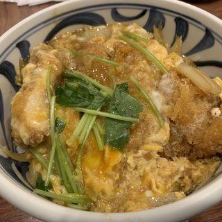 カツ丼(博多とんかつ あんず食堂 博多店)