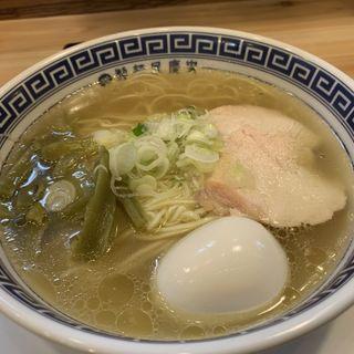 味玉鶏そば(博多元助 大濠公園駅店)