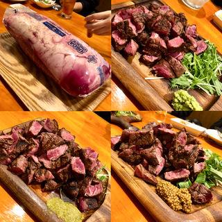 ブラックアンガス ミスジステーキ 2.5kg(GRILL KING (グリルキング))