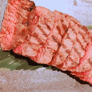 内ももステーキ(肉処 ぎんべこや)