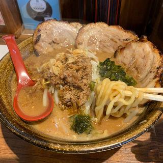 伊勢味噌炙りチャーシュー麺(芝山商店 )