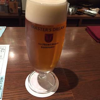 ドラフトマスター生ビール(ぽんしゅや三徳六味)