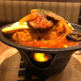 焼きおむドリアローストナスのトマトソース(神戸元町ドリア イオンモール高の原店 )
