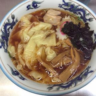 ワンタン麺(西新井ラーメン (にしあらいらーめん))