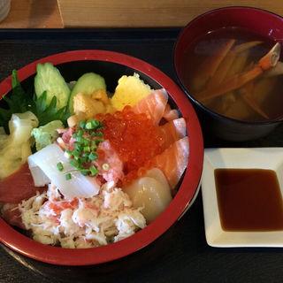 特選さっぽろ朝市丼(並)