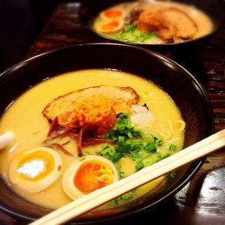 味噌ラァメン(豚ソバ Fuji屋)