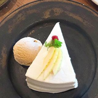 りんごのショートケーキ(つむる)