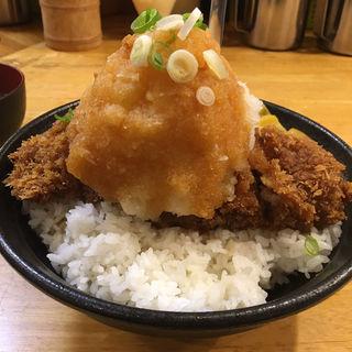 ポン酢かつ丼 L(パセリ )