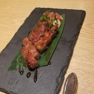 岩手県産漢方豚を使用した香港式チャーシュー(JASMINE 和心漢菜)